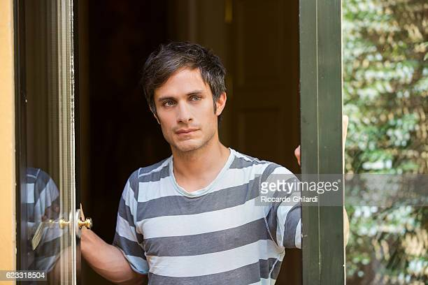 Actor Gael Garcia Bernal is photographed for Self Assignment on June 18 2016 in Rome Italy