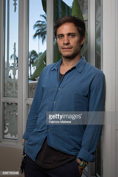 Actor Gael Garcia Bernal is photographed for The Hollywood Reporter on May 14 2016 in Cannes France