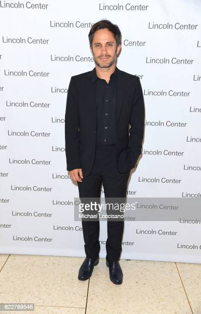 Actor Gael Garcia Bernal of 'Mozart in the Jungle' attends Lincoln Center's Mostly Mozart Opening Night Gala at David Geffen Hall on July 25 2017 in...