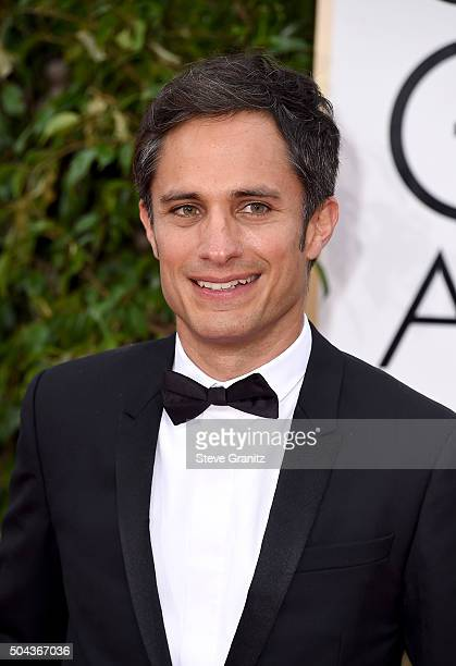 Actor Gael Garciia Bernal attends the 73rd Annual Golden Globe Awards held at the Beverly Hilton Hotel on January 10 2016 in Beverly Hills California