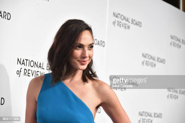 Actor Gal Gadot attends the 2018 The National Board Of Review Annual Awards Gala at Cipriani 42nd Street on January 9 2018 in New York City