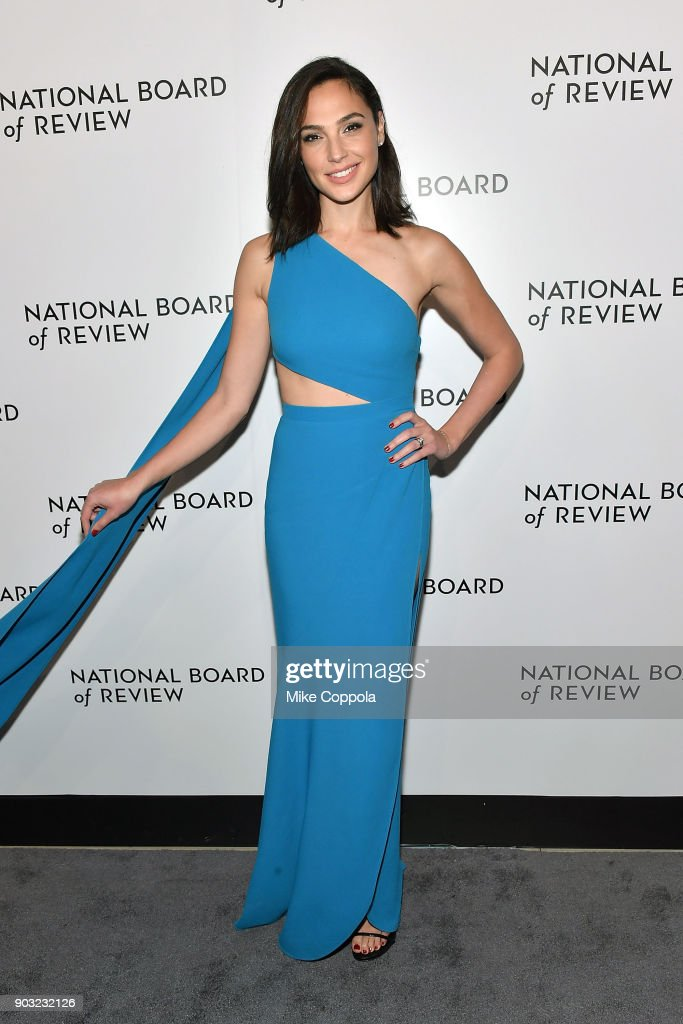 Actor Gal Gadot attends the 2018 The National Board Of Review Annual Awards Gala at Cipriani 42nd Street on January 9, 2018 in New York City.