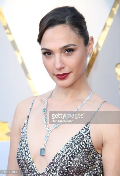 Actor Gal Gadot attends the 90th Annual Academy Awards at Hollywood Highland Center on March 4 2018 in Hollywood California
