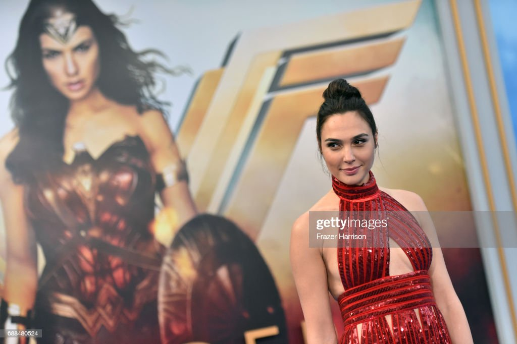 Actor Gal Gadot attends the premiere of Warner Bros. Pictures' 'Wonder Woman' at the Pantages Theatre on May 25, 2017 in Hollywood, California.