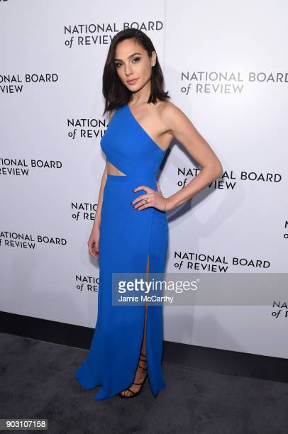 Actor Gal Gadot attends the The National Board Of Review Annual Awards Gala at Cipriani 42nd Street on January 9 2018 in New York City