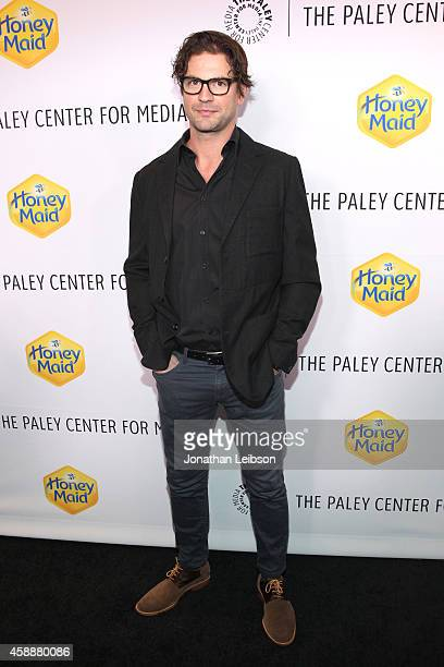 Actor Gale Harold at The Paley Center for Media's 2014 LA Benefit Gala presented by Honey Maid celebrating LGBT equality in media at Skirball...