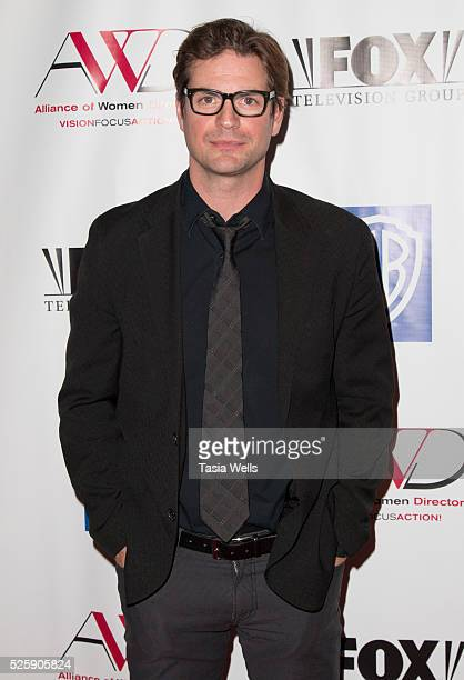 Actor Gale Harold attends the 1st Annual Alliance of Women Directors awards and benefit at the Paley Center for Media on April 28 2016 in Beverly...