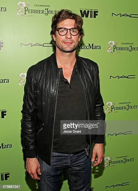 Actor Gale Harold attends the Women In Film PreOscar Cocktail Party presented by PerrierJouet MAC Cosmetics MaxMara at Fig Olive Melrose Place on...