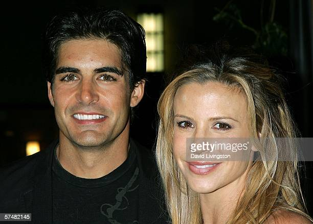 Actor Galen Gering and his wife Jenna attend NBC's Days of Our Lives and Passions preEmmy party at French 75 Bistro on April 27 2006 in Burbank...