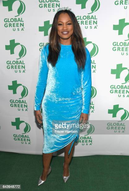 Actor Garcelle Beauvais attends the 14th Annual Global Green Pre Oscar Party at TAO Hollywood on February 22 2017 in Los Angeles California