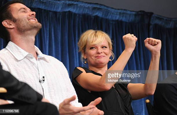 Actor Garret Dillahunt and actress Martha Plimpton attend the Paley Center for Media's Paleyfest 2011 Event honoring Raising Hope at the Saban...