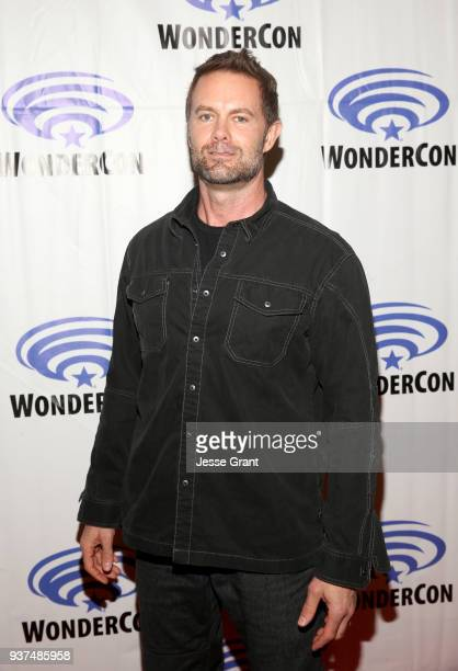 Actor Garret Dillahunt of AMC's 'Fear of the Walking Dead' attends WonderCon at Anaheim Convention Center on March 24 2018 in Anaheim California