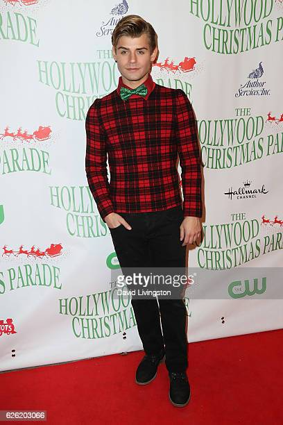 Actor Garrett Clayton arrives at the 85th Annual Hollywood Christmas Parade on November 27 2016 in Hollywood California