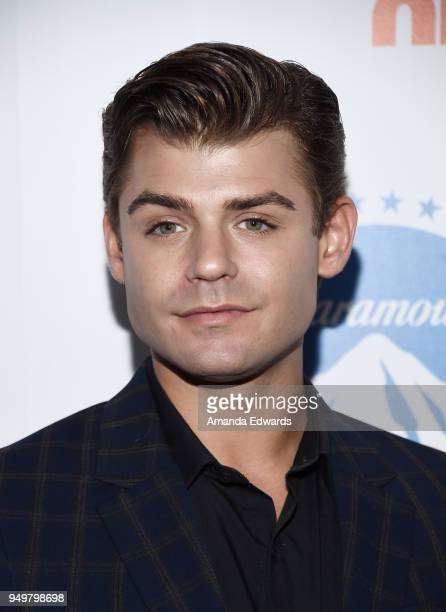 Actor Garrett Clayton arrives at the 9th Annual Thirst Gala at The Beverly Hilton Hotel on April 21 2018 in Beverly Hills California