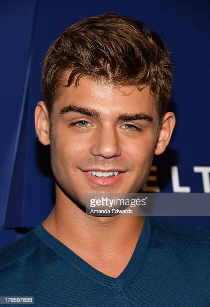 Actor Garrett Clayton arrives at the Delta Air Lines Summer Celebration at Beverly Grove Drive on August 15 2013 in Beverly Hills California