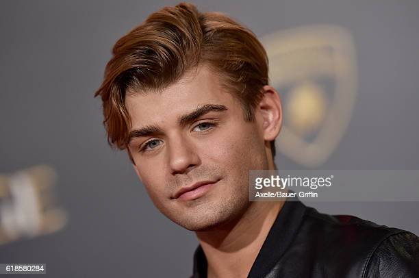 Actor Garrett Clayton arrives at the Los Angeles Premiere of 'Doctor Strange' on October 20 2016 in Hollywood California