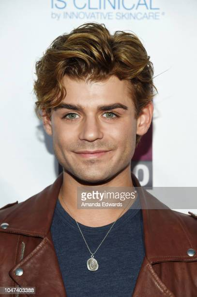 Actor Garrett Clayton arrives at The National Breast Cancer Coalition's 18th Annual Les Girls Cabaret at Avalon Hollywood on October 7 2018 in Los...