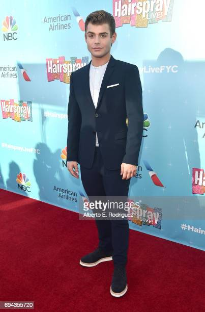 Actor Garrett Clayton attends NBC's 'Hairspray Live' FYC Event at the Saban Media Center on June 9 2017 in North Hollywood California