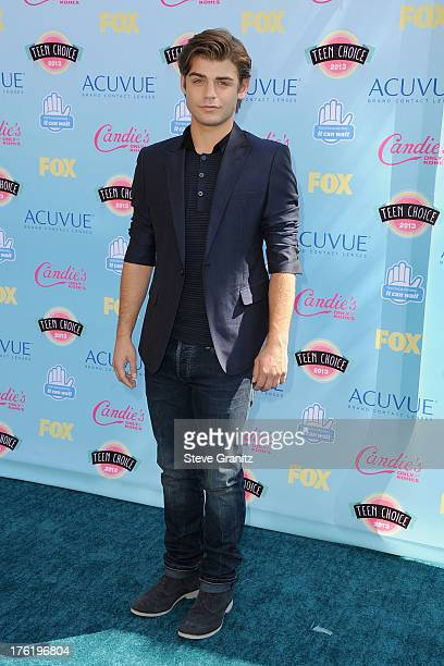 Actor Garrett Clayton attends the 2013 Teen Choice Awards at Gibson Amphitheatre on August 11 2013 in Universal City California