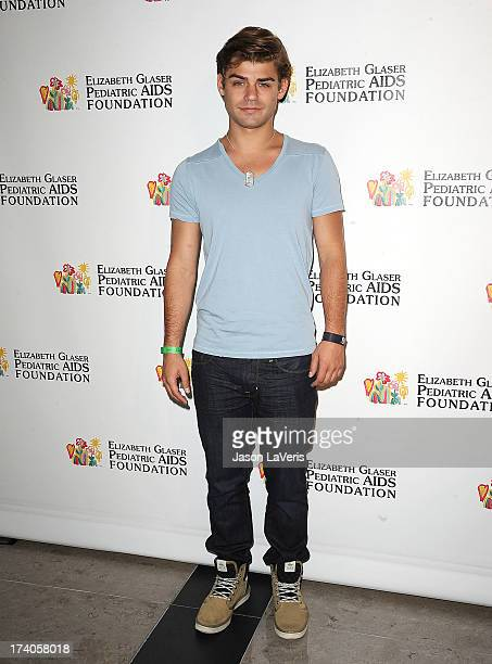Actor Garrett Clayton attends the Elizabeth Glaser Pediatric AIDS Foundation's 24th annual A Time For Heroes at Century Park on June 2 2013 in Los...