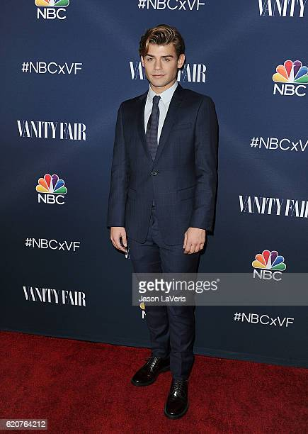 Actor Garrett Clayton attends the NBC and Vanity Fair toast to the 20162017 TV season at NeueHouse Hollywood on November 2 2016 in Los Angeles...