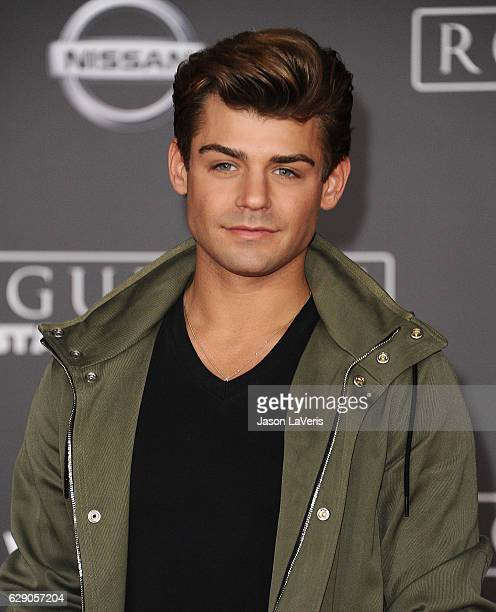 Actor Garrett Clayton attends the premiere of 'Rogue One A Star Wars Story' at the Pantages Theatre on December 10 2016 in Hollywood California