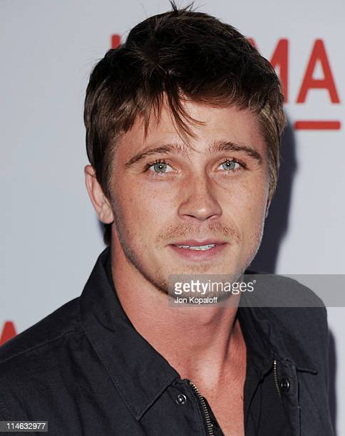 Actor Garrett Hedlund arrives at the Los Angeles Premiere The Tree Of Life at the Bing Theatre at LACMA on May 24 2011 in Los Angeles California