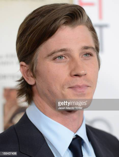 Actor Garrett Hedlund arrives at the On The Road premiere during the 2012 AFI Fest presented by Audi at Grauman's Chinese Theatre on November 3 2012...