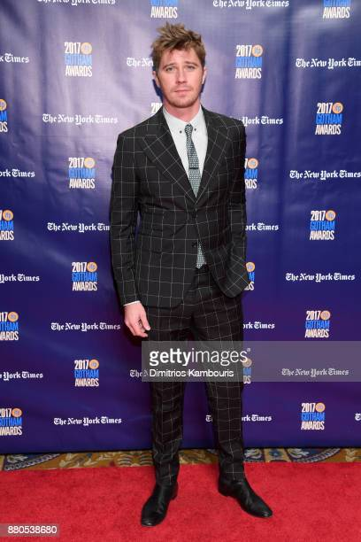 Actor Garrett Hedlund attends IFP's 27th Annual Gotham Independent Film Awards on November 27 2017 in New York City