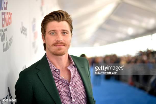 Actor Garrett Hedlund attends the 2018 Film Independent Spirit Awards on March 3 2018 in Santa Monica California
