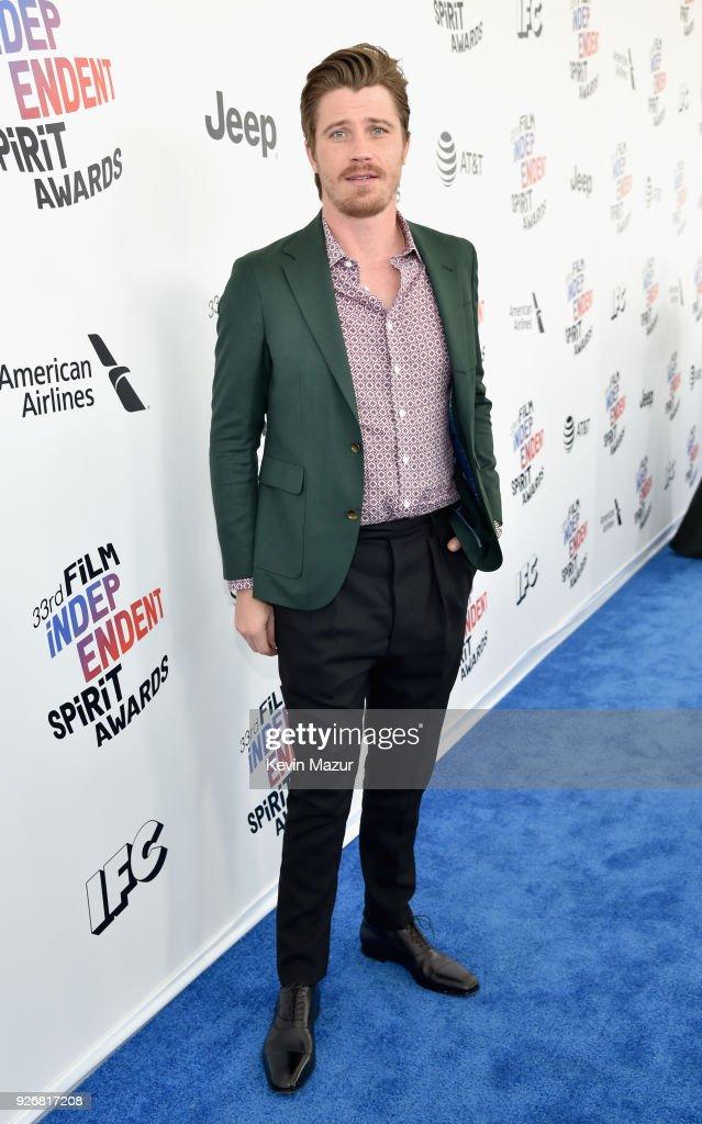 Actor Garrett Hedlund attends the 2018 Film Independent Spirit Awards on March 3, 2018 in Santa Monica, California.