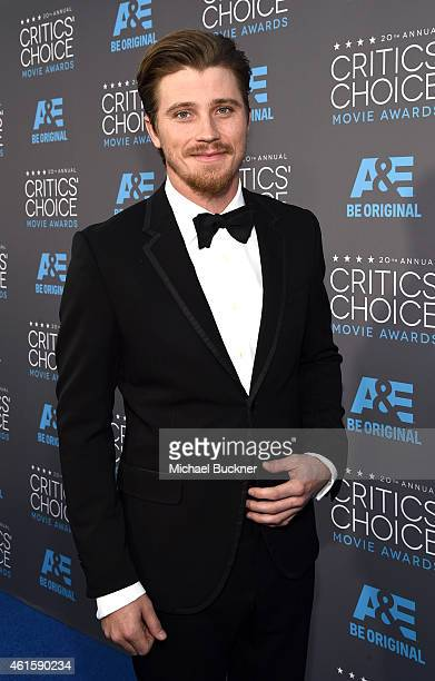 Actor Garrett Hedlund attends the 20th annual Critics' Choice Movie Awards at the Hollywood Palladium on January 15 2015 in Los Angeles California