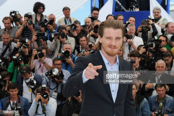 Actor Garrett Hedlund attends the 'Inside Llewyn Davis' photocall during the 66th Annual Cannes Film Festival at the Palais des Festivals on May 19...
