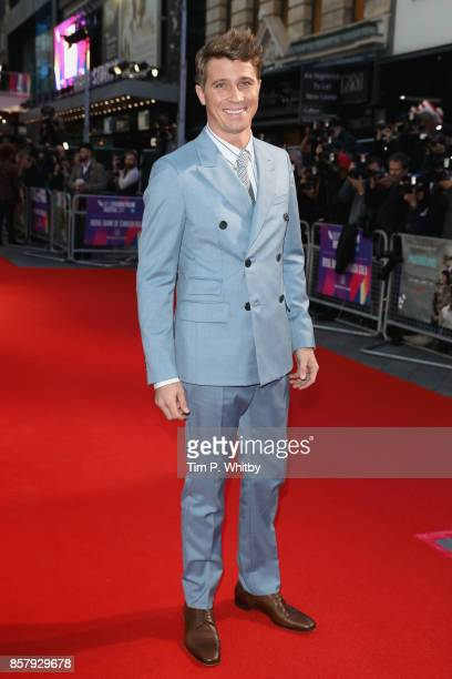 Actor Garrett Hedlund attends the Royal Bank of Canada Gala European Premiere of 'Mudbound' during the 61st BFI London Film Festival on October 5...
