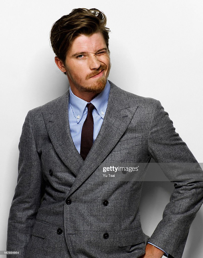 Actor Garrett Hedlund is photographed for Esquire UK on September 1, 2012 in Los Angeles, California. PUBLISHED