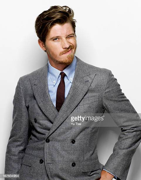 Actor Garrett Hedlund is photographed for Esquire UK on September 1 2012 in Los Angeles California PUBLISHED IMAGE