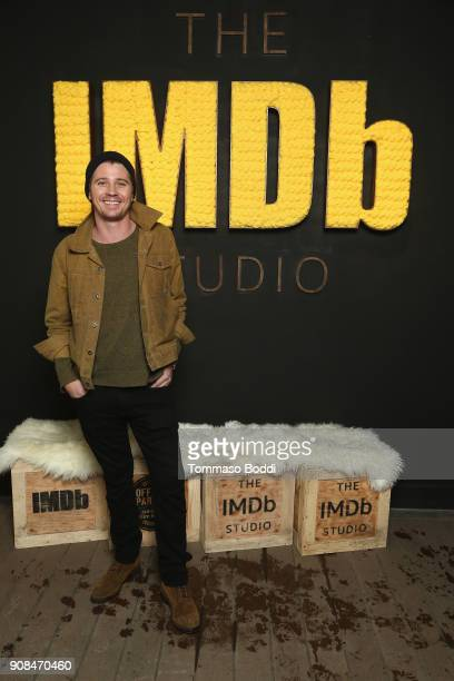 Actor Garrett Hedlund of 'Burden' attends The IMDb Studio and The IMDb Show on Location at The Sundance Film Festival on January 21 2018 in Park City...
