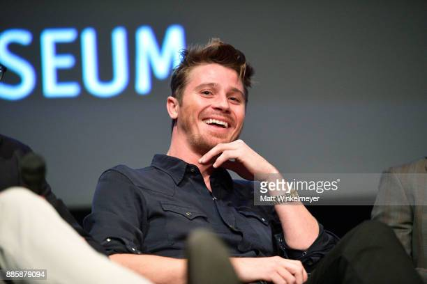 Actor Garrett Hedlund speaks onstage during the Hammer Museum presents The Contenders 2017 Mudbound at Hammer Museum on December 4 2017 in Los...