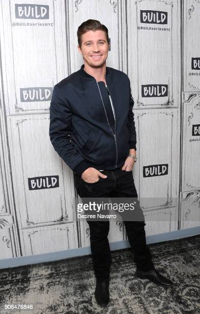 Actor Garrett Hedlund visits Build Series to discuss HBO's 'Mosaic' at Build Studio on January 18 2018 in New York City