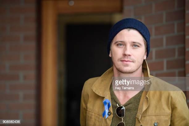 Actor Garrett Hedlund walks in Park City on January 21 2018 in Park City Utah