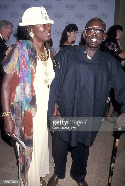 Actor Garrett Morris and date Freda attend the Second Annual Comedy Hall of Fame Induction Ceremony on August 28 1994 at Beverly Hilton Hotel in...