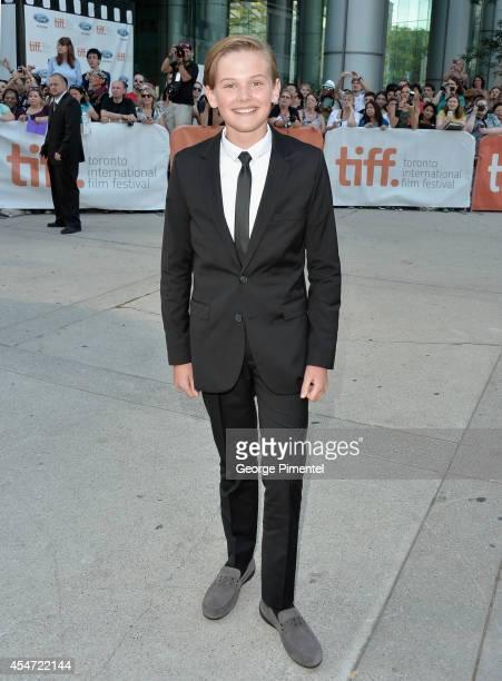 Actor Garrett Wareing attends the Boychoir premiere during the 2014 Toronto International Film Festival at Roy Thomson Hall on September 5 2014 in...