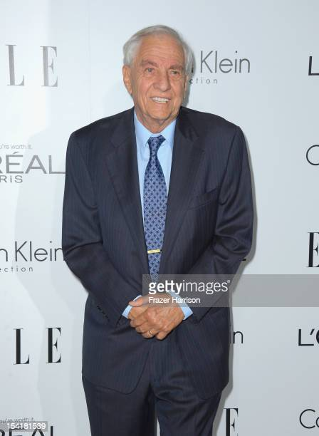Actor Garry Marshall arrives at ELLE's 19th Annual Women In Hollywood Celebration at the Four Seasons Hotel on October 15 2012 in Beverly Hills...