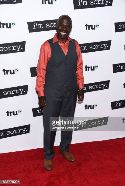 Actor Gary Anthony Williams arrives at the premiere of truTV's 'I'm Sorry' at the SilverScreen Theater at the Pacific Design Center on June 13 2017...