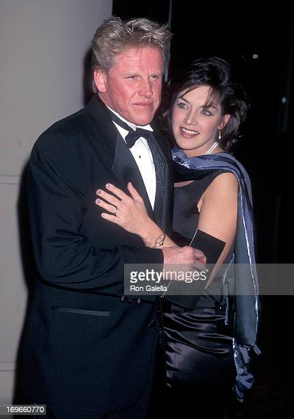 Actor Gary Busey and girlfriend Tiani Warden attend the 24th Annual American Film Institute Lifetime Achievement Award Salute to Clint Eastwood on...