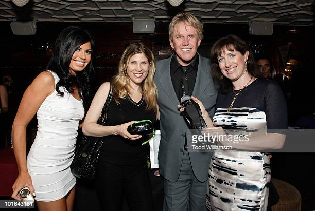 Actor Gary Busey attend the Melanie Segal's Celebrity S.O.S Lounge at House of Blues Sunset Strip on June 4, 2010 in West Hollywood, California.