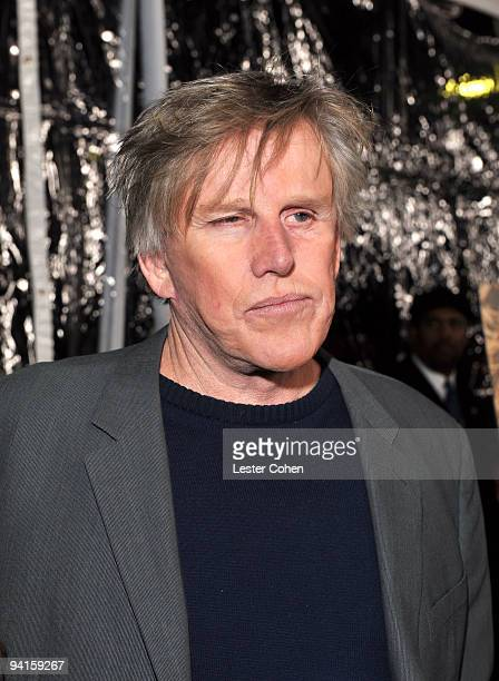 Actor Gary Busey attends the Crazy Heart Los Angeles Premiere at the Academy of Television Arts Sciences on December 8 2009 in Los Angeles United...