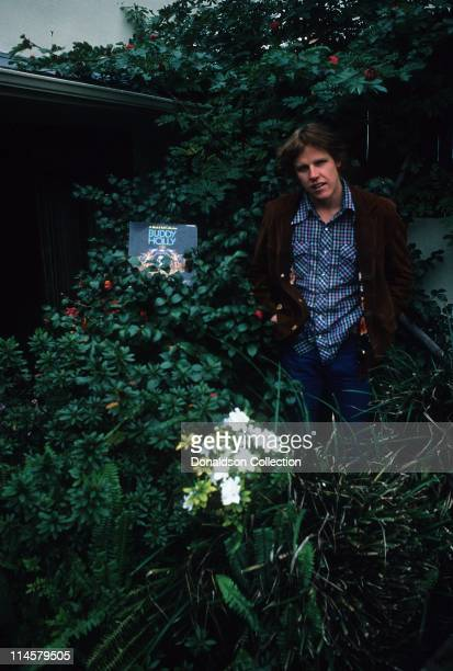 Actor Gary Busey poses for a portrait in 1978 in Los Angeles California Gary Busey