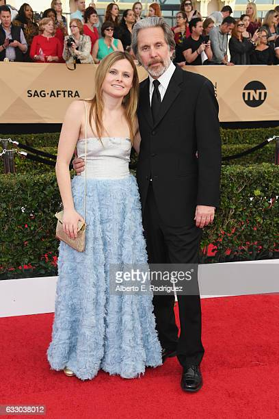 Actor Gary Cole and Mary Cole attend the 23rd Annual Screen Actors Guild Awards at The Shrine Expo Hall on January 29 2017 in Los Angeles California