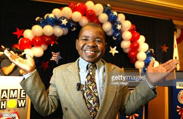 Actor Gary Coleman a candidate for governor in California's recall election poses for a portrait after a news conference announcing the the Game Show...